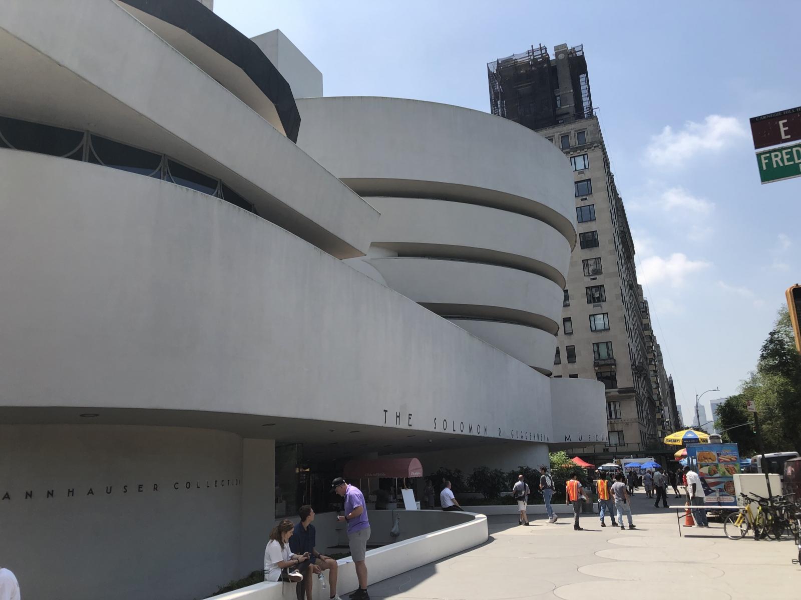 Das Guggenheim von außen